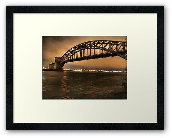 The Hellgate Bridge by ponycargirl
