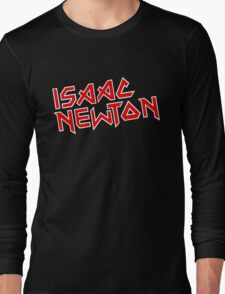 Isaac Newton / Iron Maiden (Monsters of Grok) Long Sleeve T-Shirt