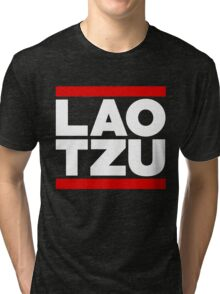 Lao Tzu / Run DMC (Monsters of Grok) Tri-blend T-Shirt