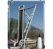 Old Canal Side Crane, Fradley Junction  iPad Case/Skin