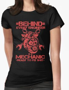 Mechanic - Ready To Fix  Womens Fitted T-Shirt
