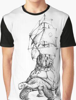 Tortoise Travel Graphic T-Shirt