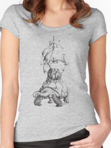 Tortoise Travel Women's Fitted Scoop T-Shirt
