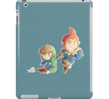 Legend of Zelda: Skyward Sword chibi Link and Groose iPad Case/Skin