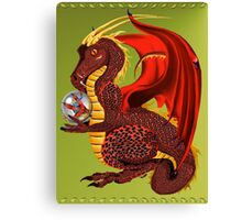 Red Fortune Dragon Canvas Print