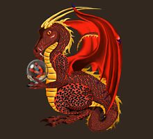 Red Fortune Dragon Unisex T-Shirt