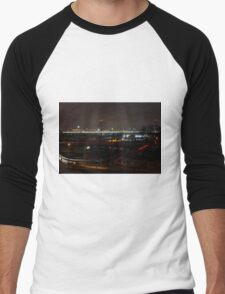 Belgrade Serbia Men's Baseball ¾ T-Shirt
