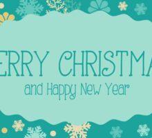 Christmas & New Year Pattern Sticker