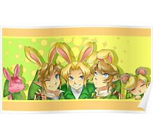 Legend of Zelda: Bunny Hoods Poster