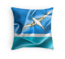 Midway Islands Flag Throw Pillow