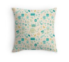 Christmas & New Year Pattern Throw Pillow