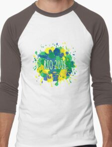 Rio 2016 Men's Baseball ¾ T-Shirt