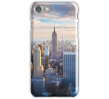 Manhattan at Sunset, New York City iPhone Case/Skin