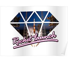 Rocket Launch Poster
