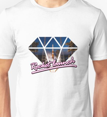 Rocket Launch Unisex T-Shirt