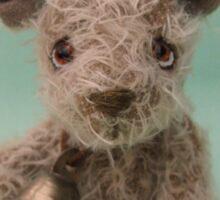 Handmade bears from Teddy Bear Orphans - Edmond Sticker
