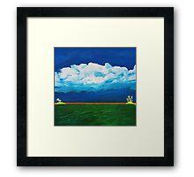 Islands Framed Print