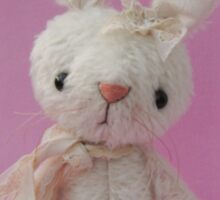 Handmade bears from Teddy Bear Orphans - Rachel Rabbit Sticker