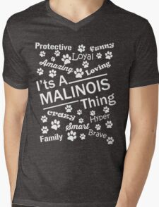 Malinois Thing Mens V-Neck T-Shirt