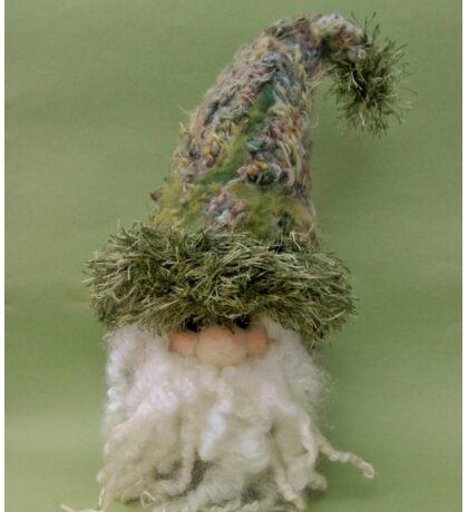 Handmade needle felted creation from Teddy Bear Orphans = Gnatt Gnome Sticker