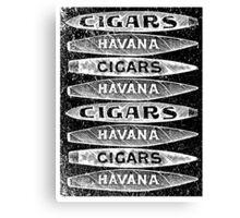 Havana Cigars. Canvas Print