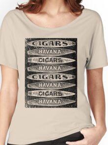 Havana Cigars. Women's Relaxed Fit T-Shirt