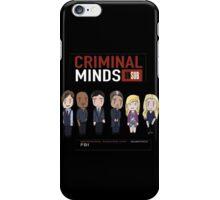 Criminal minds BAU Unsub iPhone Case/Skin
