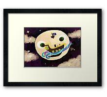 Moon Runners Framed Print