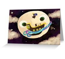 Moon Runners Greeting Card