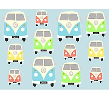 VW Campers Photographic Print