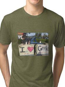 Iheartgeeks Tri-blend T-Shirt