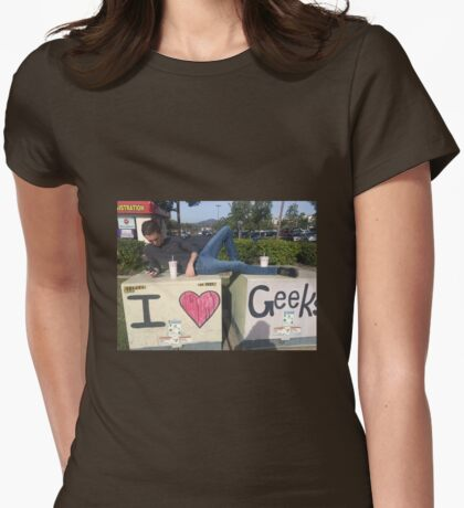 Iheartgeeks Womens Fitted T-Shirt