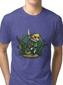 Zelda Attack... Tri-blend T-Shirt