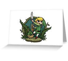 Zelda Attack... Greeting Card