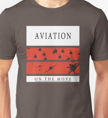 Aviation on the Move Unisex T-Shirt