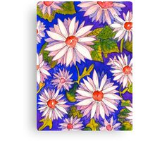 Giant Daisies Canvas Print