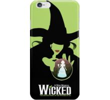 Wicked Broadway Musical Wizard Of Oz T-Shirt iPhone Case/Skin