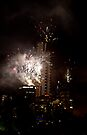 Eureka tower new years eve fireworks by collpics