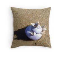 Seashell Butterflies  Throw Pillow