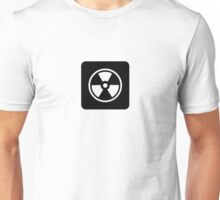 Caution: Radioactive Unisex T-Shirt