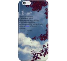 House Of Leaves iPhone Case/Skin