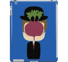 DWIGHT MAGRITTE SCHRUTE iPad Case/Skin