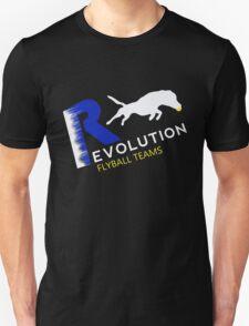 Revolution flyball black n blue T-Shirt