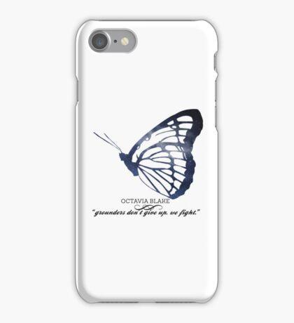 The 100's Octavia Blake Graphic iPhone Case/Skin