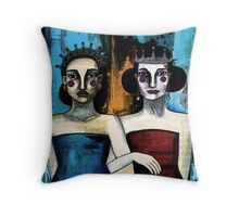 Dancing with ourselves Throw Pillow