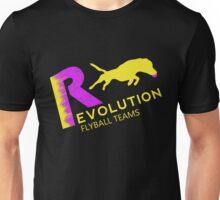 Revolution,flyball pink n yellow Unisex T-Shirt