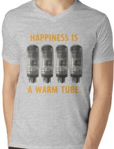 Happiness is a warm tube (7591) Mens V-Neck T-Shirt