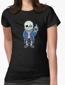 Undertale - Sans Womens Fitted T-Shirt