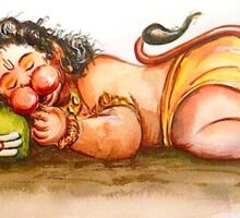 Baby Hanuman Sticker