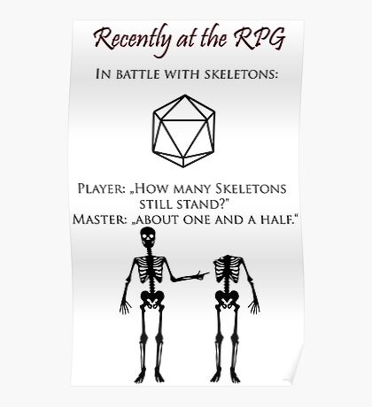 Recently at the RPG Poster